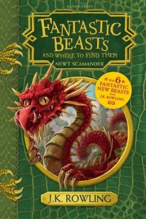 Fantastic Beasts & Where to Find Them Hogwarts Library Book
