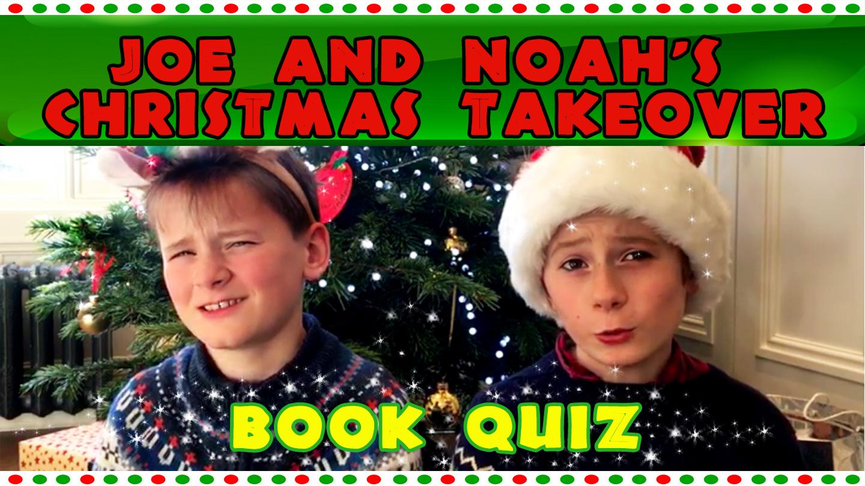 CHRISTMAS BOOK QUIZ WITH JOE AND NOAH - The KRiB - The KRiB